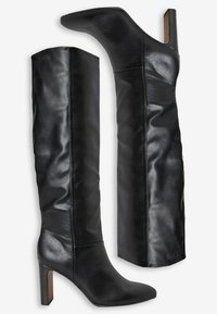 Next - FOREVER COMFORT® FEATURE HEEL KNEE HIGH BOOTS - Kozaki - black - 2