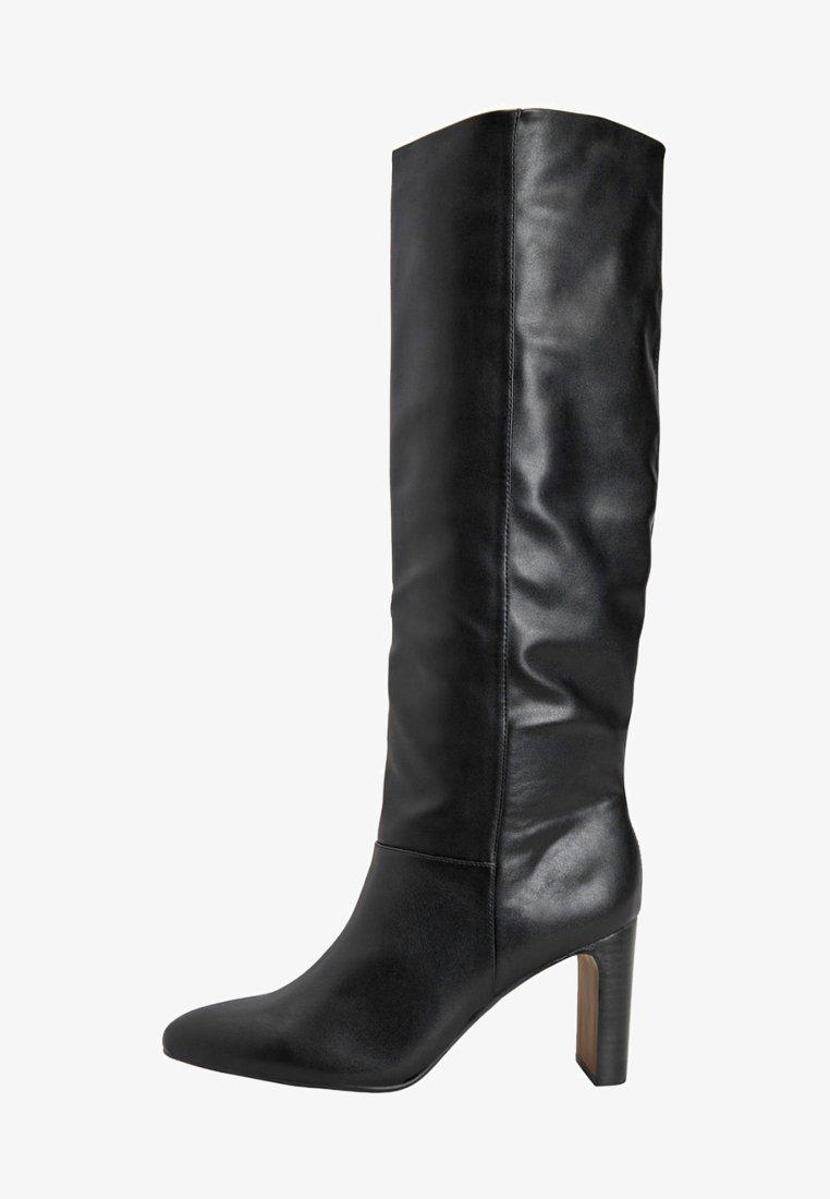 Next - FOREVER COMFORT® FEATURE HEEL KNEE HIGH BOOTS - Kozaki - black