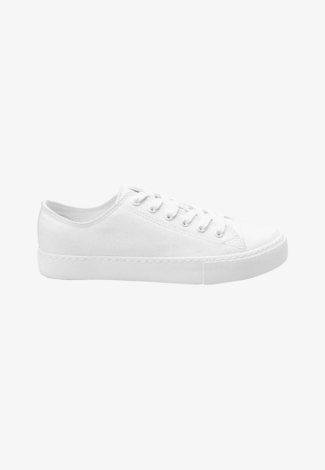 BASEBALL CANVAS - Sneakersy niskie - white