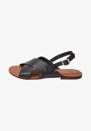 FOREVER COMFORT® CROSS FRONT SLINGBACKS - Sandals - black