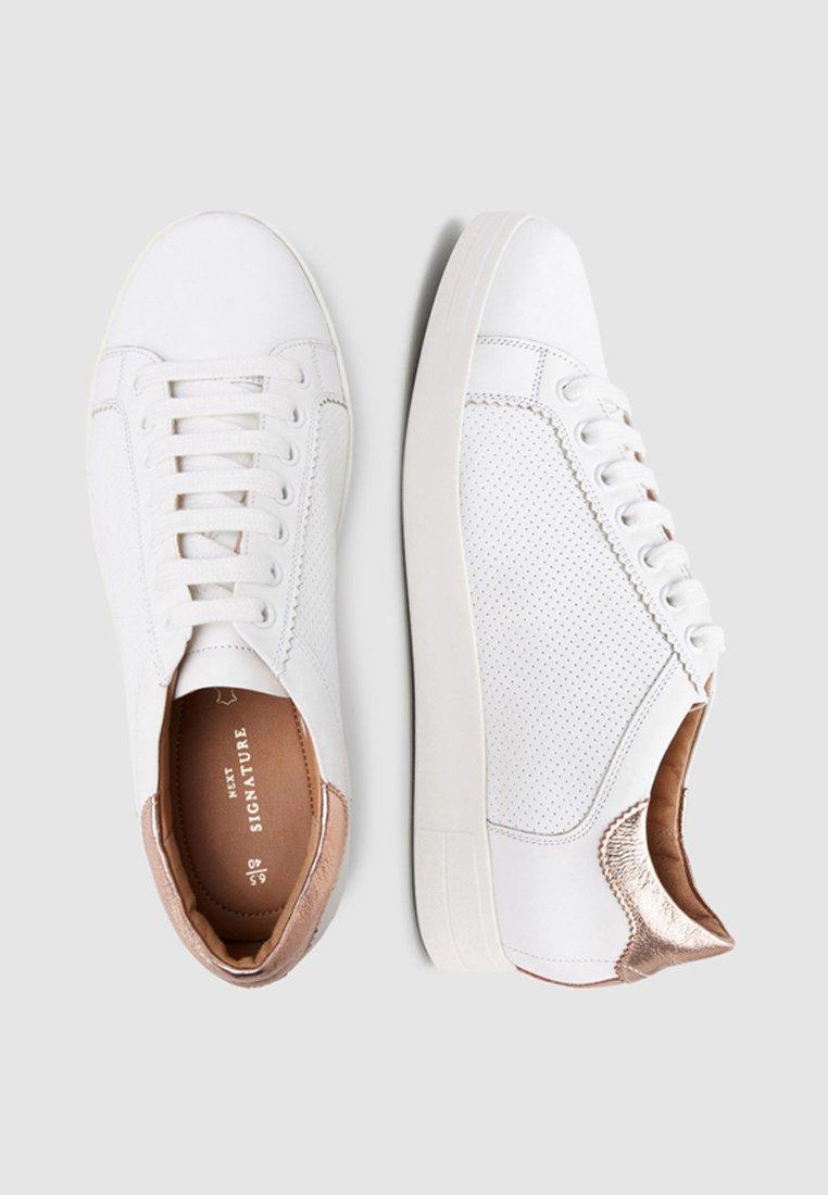 Next Sneakersy niskie - gold