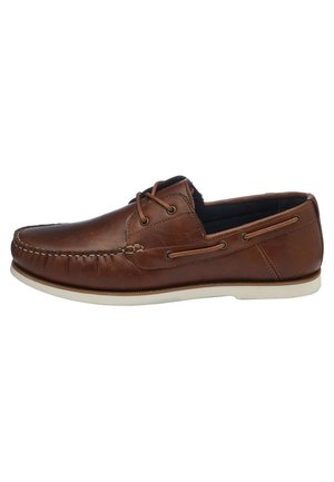 BOAT SHOE - Náuticos - brown