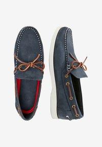 Next - Chaussures bateau - blue - 1