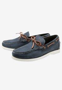 Next - Chaussures bateau - blue - 2