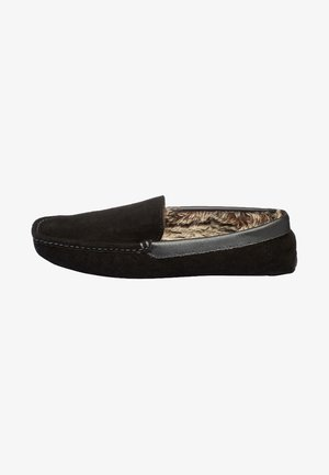 SIGNATURE LUXURY  - Pantoffels - black
