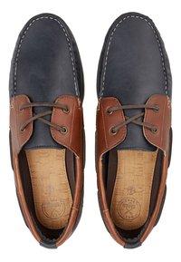 Next - CONTRAST  - Chaussures bateau - tan - 1