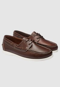 Next - LEATHER BOAT SHOE - Chaussures bateau - brown - 2
