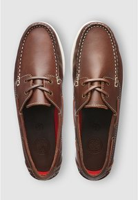Next - LEATHER BOAT SHOE - Chaussures bateau - brown - 1