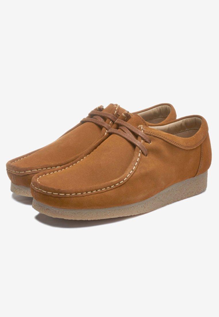 Next Sznurowane obuwie sportowe - brown