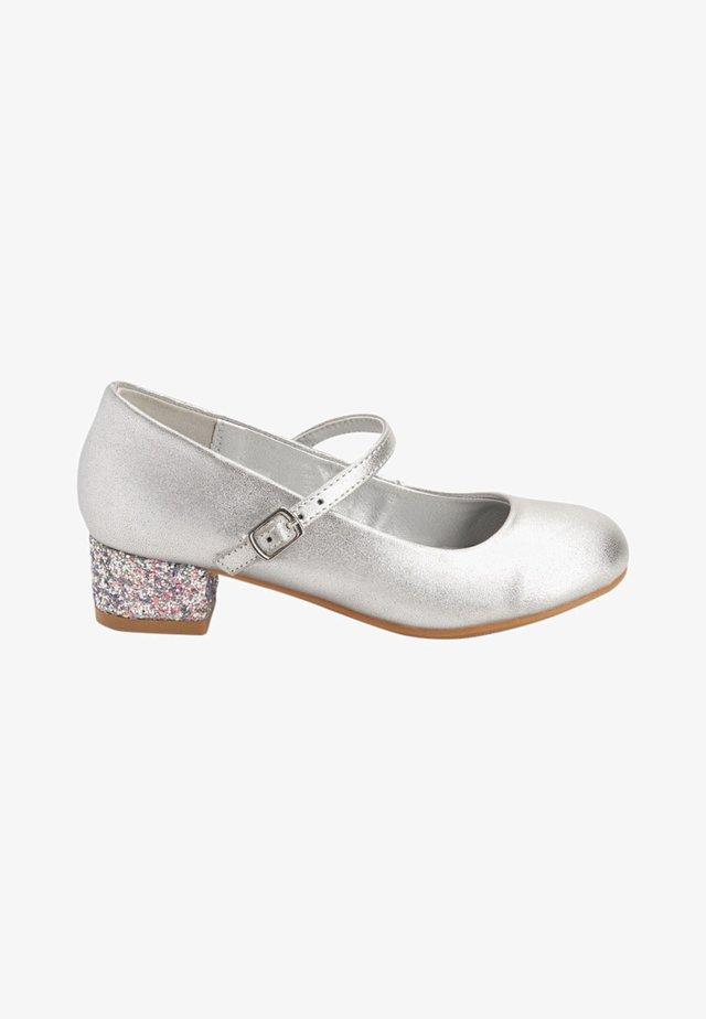 MARY JANE - Ballerinasko m/ rem - silver