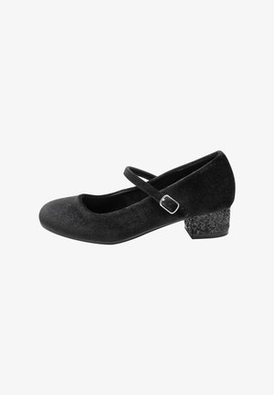 MARY JANE - Ankle strap ballet pumps - black