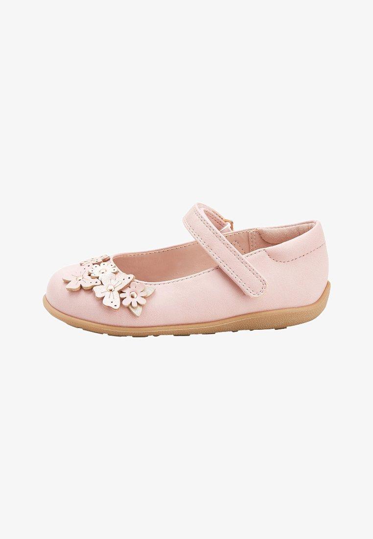Next - Ankle strap ballet pumps - pink