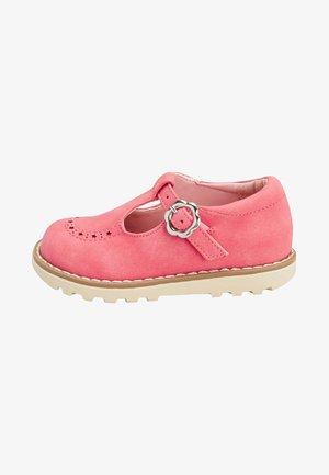 Ballerinat nilkkaremmillä - pink