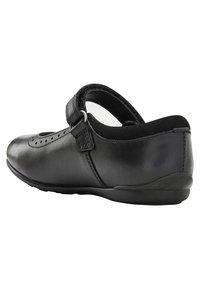 Next - BLACK MARY JANE BROGUES - Ankle strap ballet pumps - black - 3