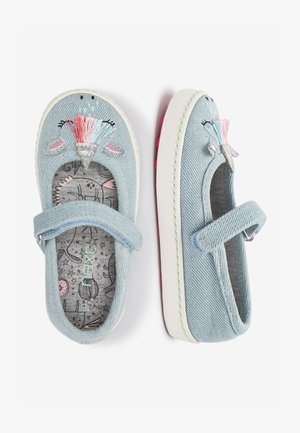PINK CAT MARY JANE PUMPS (YOUNGER) - Babies - blue