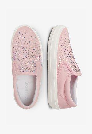 GEM HEATSEAL  - Slip-ons - pink
