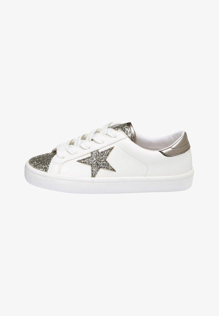 Next - MULTI GLITTER STAR  - Sneaker low - white