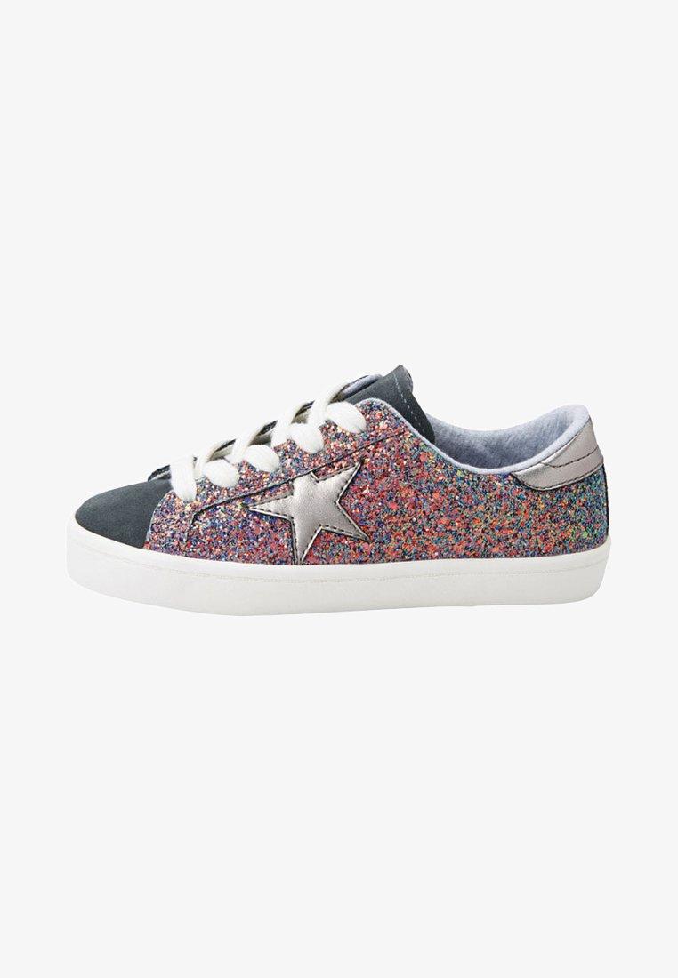 Next - MULTI GLITTER STAR  - Sneaker low - metallic grey