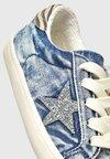 Next - MULTI GLITTER STAR  - Sneaker low - blue