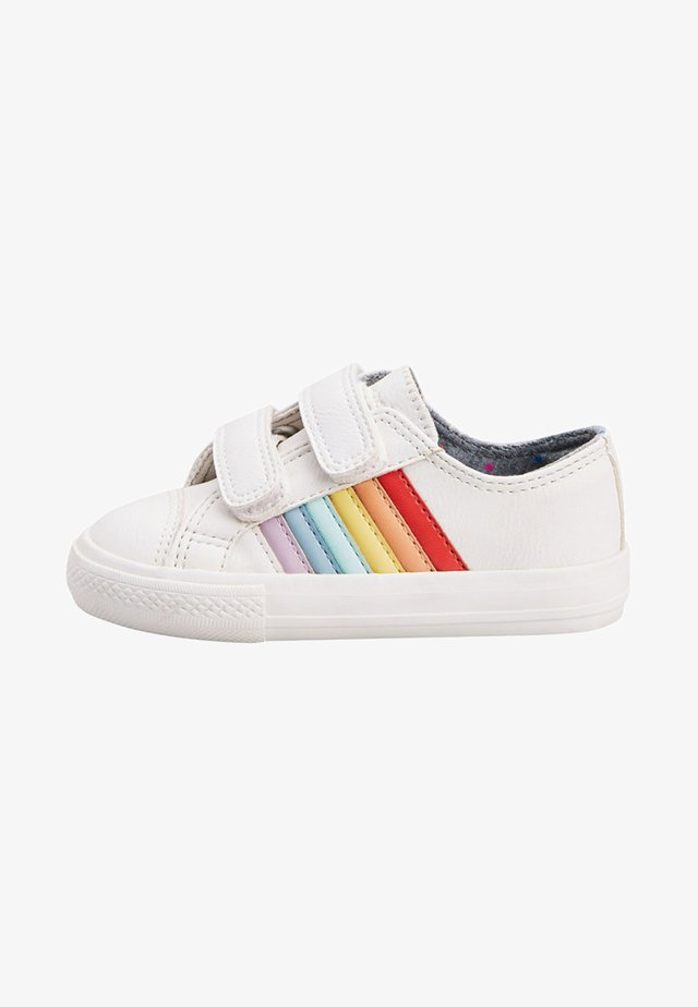 RAINBOW TOUCH - Chaussures premiers pas - white