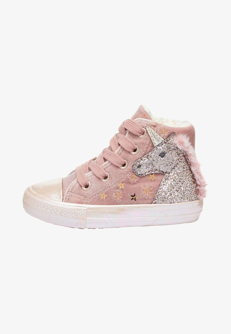 Next - High-top trainers - pink