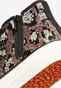 Next - PINK/BLUE SEQUIN HIGH TOP TRAINERS (OLDER) - Höga sneakers - brown - 4