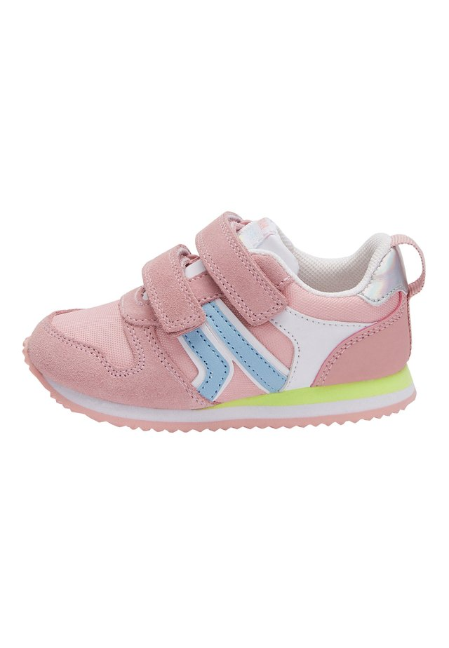 BLUE TOUCH FASTENING TRAINERS (YOUNGER) - Baby shoes - pink
