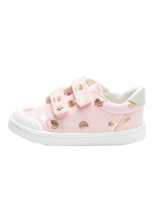PINK SPOT TOUCH FASTENING TRAINERS (YOUNGER) - Baskets basses - pink