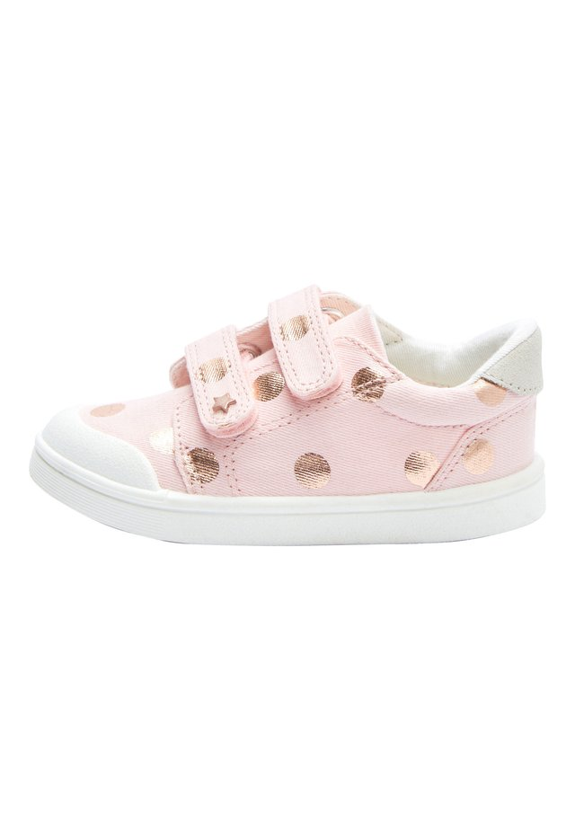 PINK SPOT TOUCH FASTENING TRAINERS (YOUNGER) - Tenisky - pink