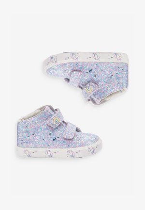 PINK TOUCH FASTENING HIGH TOP TRAINERS (YOUNGER) - Babyschoenen - purple