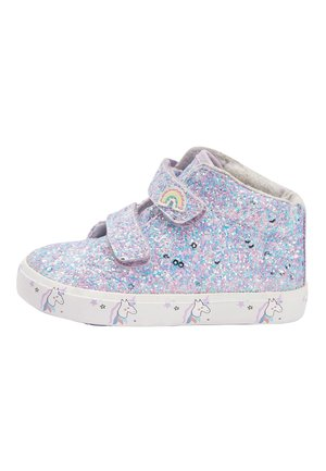 PINK TOUCH FASTENING HIGH TOP TRAINERS (YOUNGER) - Vauvan kengät - purple