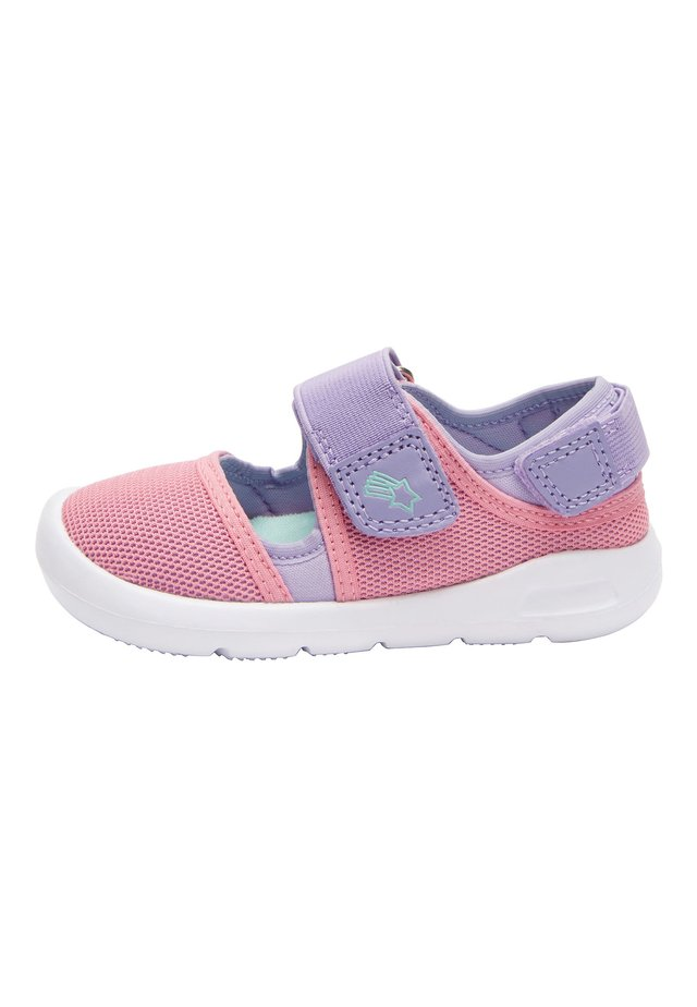 PINK SPORTY LIGHTWEIGHT TRAINERS (YOUNGER) - Touch-strap shoes - pink