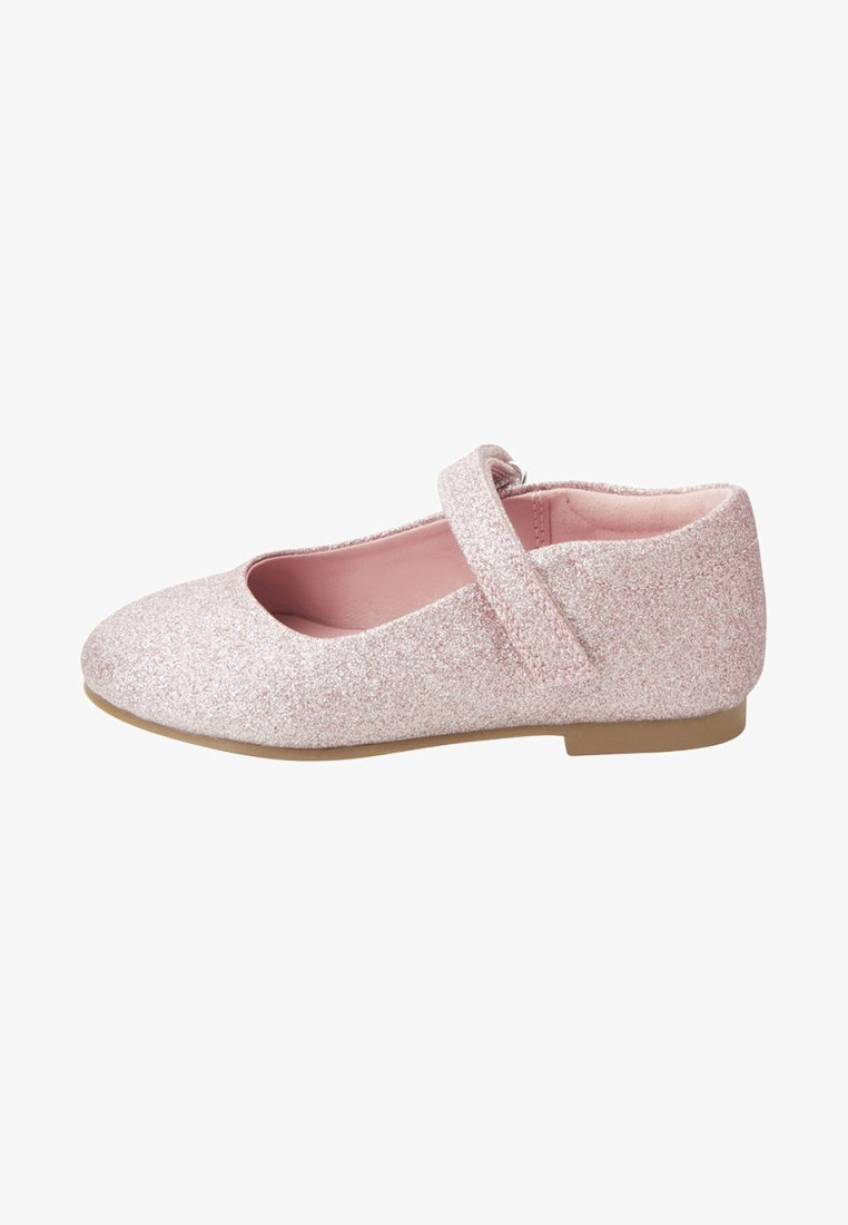 Next - Ankle strap ballet pumps - pink