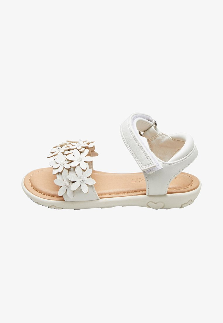Next - Sandalen met plateauzool - white