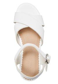 Next - WEDGE - Sandales - white - 2