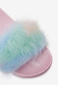 Next - MULTI FAUX FUR SLIDERS (OLDER) - Slippers - pink - 5
