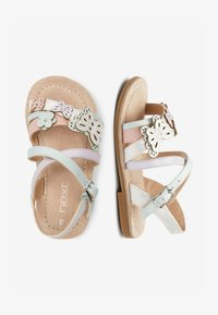Next - MULTI PASTEL 3D BUTTERFLY SANDALS (YOUNGER) - Sandals - pink - 1