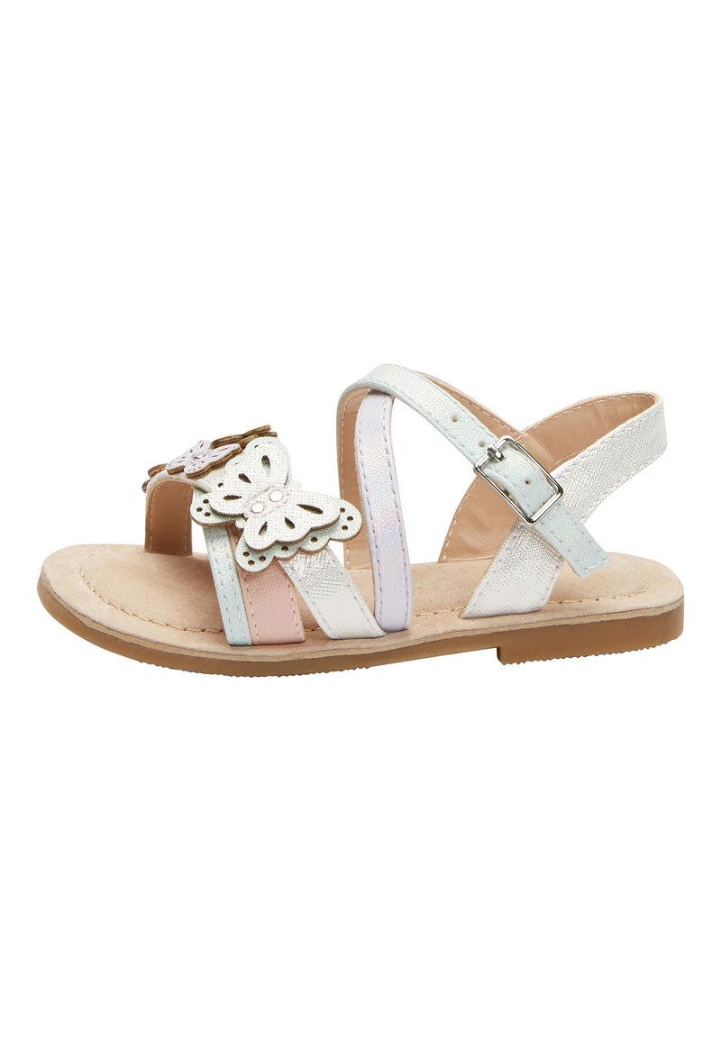Next - MULTI PASTEL 3D BUTTERFLY SANDALS (YOUNGER) - Sandals - pink