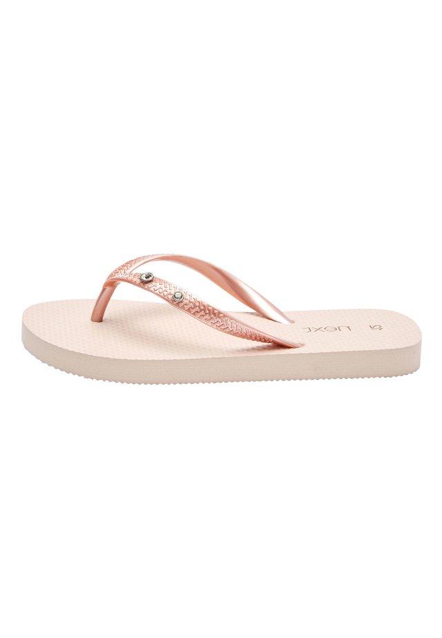 ROSE GOLD FLIP FLOPS (OLDER) - T-bar sandals - pink