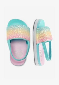 Next - RAINBOW GLITTER SLIDERS (YOUNGER) - Pool slides - pink - 1