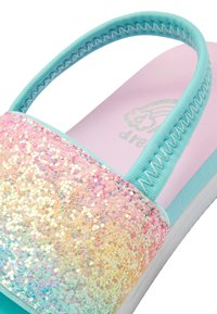 Next - RAINBOW GLITTER SLIDERS (YOUNGER) - Pool slides - pink - 3