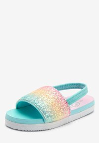Next - RAINBOW GLITTER SLIDERS (YOUNGER) - Pool slides - pink - 2