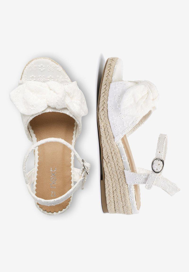 Next - Sandals - white