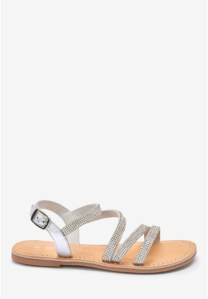HEATSEAL STRAPPY SANDALS (OLDER) - Sandály - silver