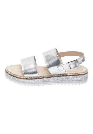 HEATSEAL  - Sandały - silver