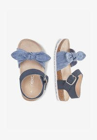 Next - BLUE CORKBED BOW SANDALS (YOUNGER) - Baby shoes - blue - 1