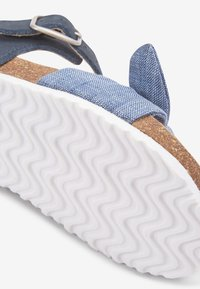 Next - BLUE CORKBED BOW SANDALS (YOUNGER) - Baby shoes - blue - 3