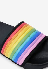 Next - BLACK RAINBOW SLIDERS (OLDER) - Pool slides - black - 3