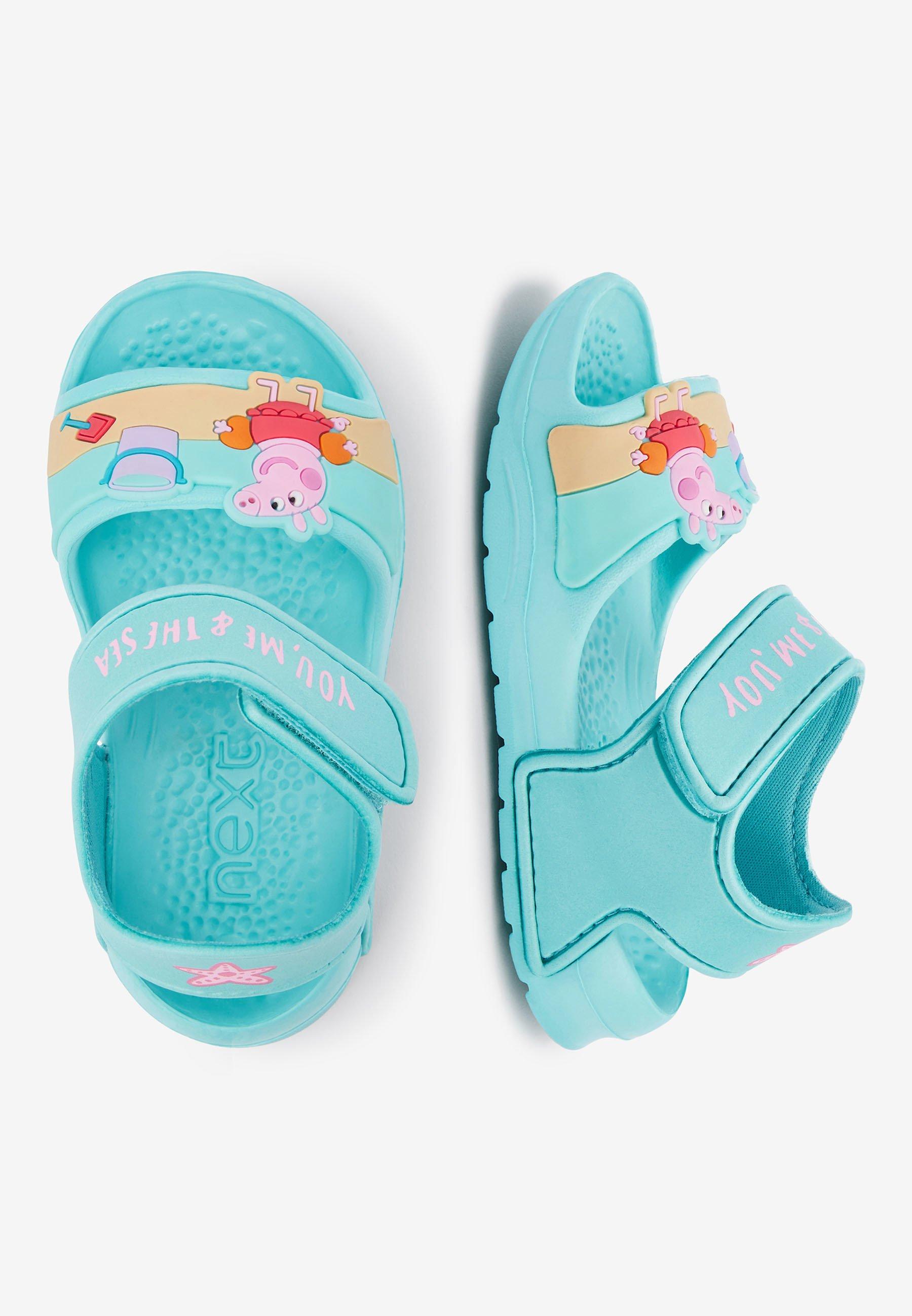 """Next AQUA PEPPA PIGÂ""""¢ POOL SLIDERS (YOUNGER) - Pool slides - blue"""