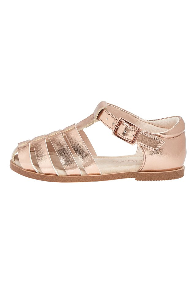 LILAC ENCLOSED SANDALS (YOUNGER) - Sandały - gold